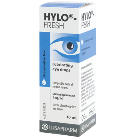 HYLO FRESH E/DRPS 0.1% 10ML