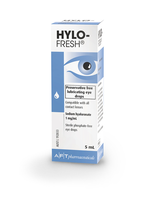 HYLO-FRESH EYE DROPS 1MG/ML, 5ML