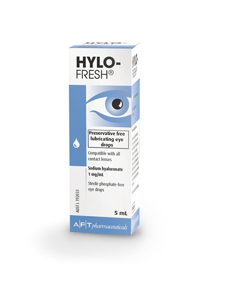 Hylo-Fresh Eye Drops 5mL