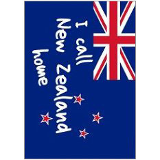 Call NZ Home Fridge Magnet