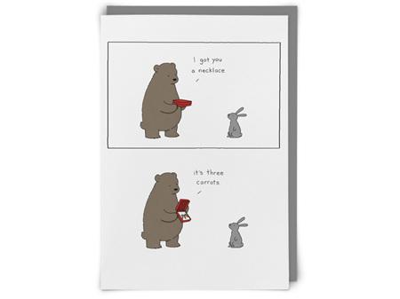 I Got You a Necklace Redback Humour Card