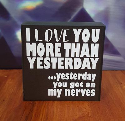 I LOVE YOU .....