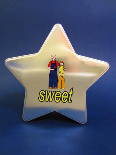 I LOVE YOU STAR GIFT TIN