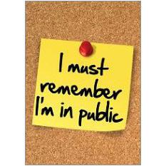 Public Fridge Magnet