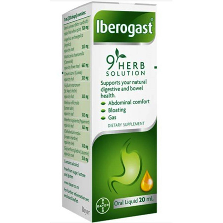 IBEROGAST ORAL LIQUID 20ML