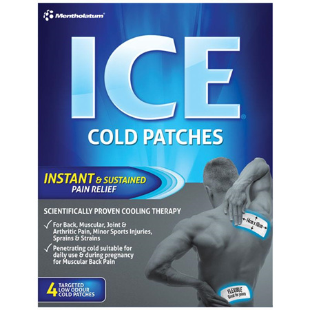 Ice Cold Patches, 4 Pack
