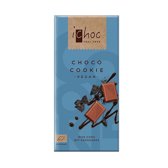 iChoc Choco Cookie Chocolate 80g