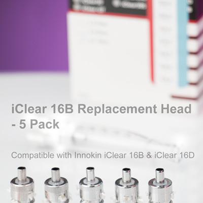 iClear 16B - Dual Coil Head - 5 Pack