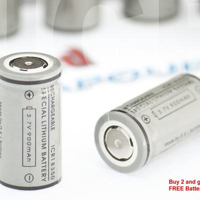 ICR - 18350 Li-ion - 900mAh