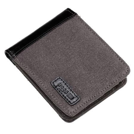 Idaho Canvas Wallet - Black