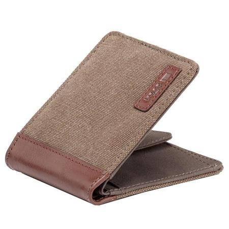 Idaho Canvas Wallet - Brown