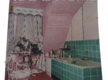 Ideal Home magazine 1955
