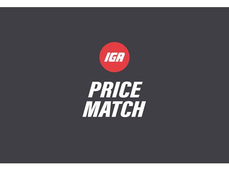 IGA Pricematch