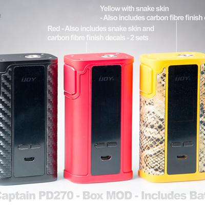 IJOY Captain PD270 - Box MOD - Includes Batteries