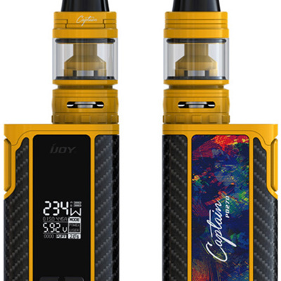 IJOY Captain PD270 - Box MOD - Includes Batteries + Captain S subohm Tank