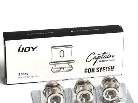 IJOY CAPTAIN SUBOHM TANK COILS – PACK OF 3