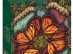 Illustrated Bestiary Puzzle: Monarch Butterfly 750 Pieces at www.puzzlesnz.co.nz