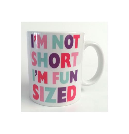 I'm not short I'm Fun sized Mug funny gift
