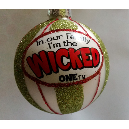 I'm the Wicked One - Tree Decoration