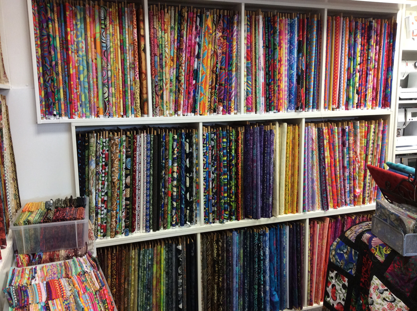 Kaffe Fassett, New Zealand and Batik fabrics