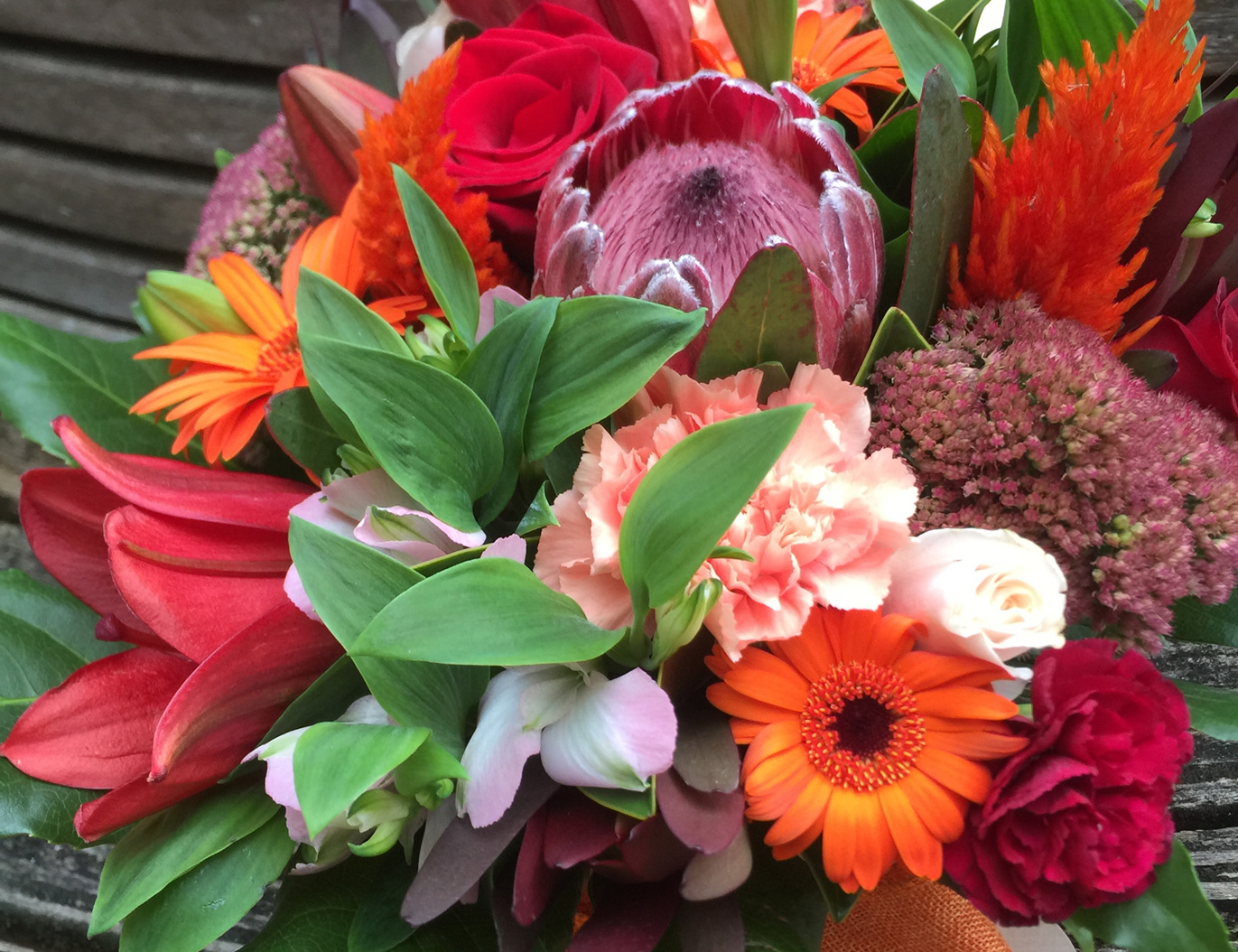 Bouquets delivered Auckland wide