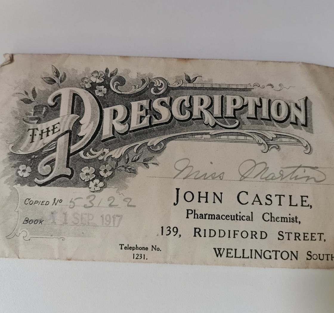 An old prescription 4