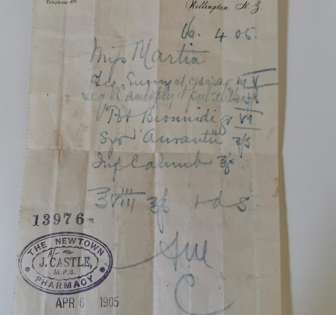 An old prescription 1