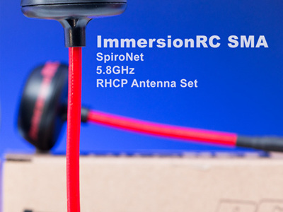 ImmersionRC SMA - SpiroNet 5.8GHz RHCP Antenna Set