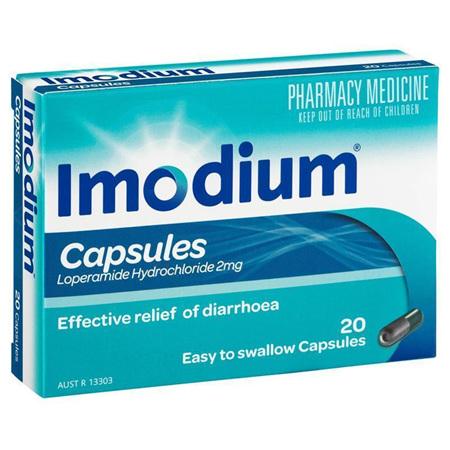 IMODIUM 2MG 20 CAPSULES