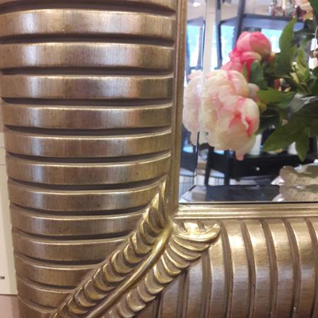 Impressions Mirror Antique Gold - $655
