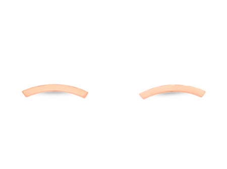 Impulse Rose Gold Stud