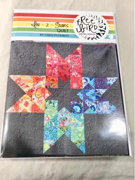 In 2 Stars Quilt Pattern