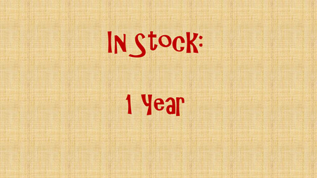 In Stock - 12 months