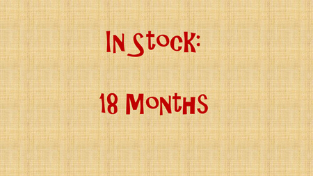 In Stock - 18 months
