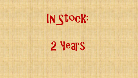 In Stock - 2 years