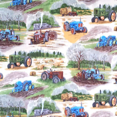 In The Country - Tractors