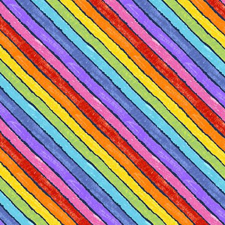 In the Garden Rainbow Fancy Night A-9831-B