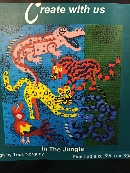 In the Jungle by Tess Norquay