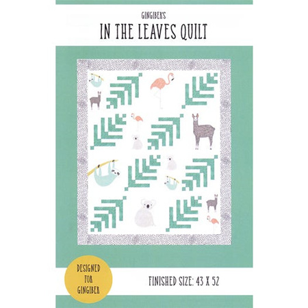 In the Leaves Quilt by Gingiber
