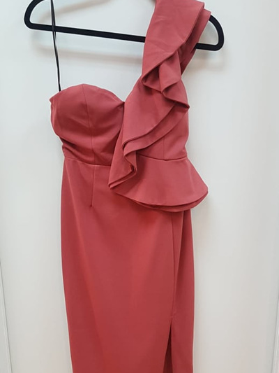 In the Shallows Dress - Rose Pink
