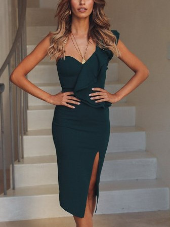 In the Shallows Dress - Teal