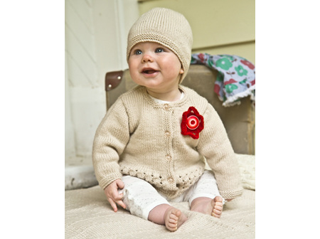 Indiana Cardi and Hat Pattern