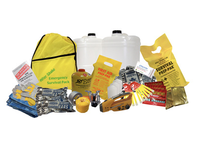Individual Emergency Survival Kit Items