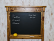 Industrial Chalkboard Wall Unit