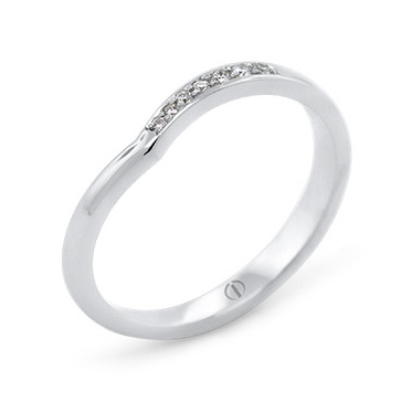 Infinity Delicate Ladies Wedding Ring
