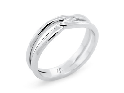 Infinity Men's Wedding Ring