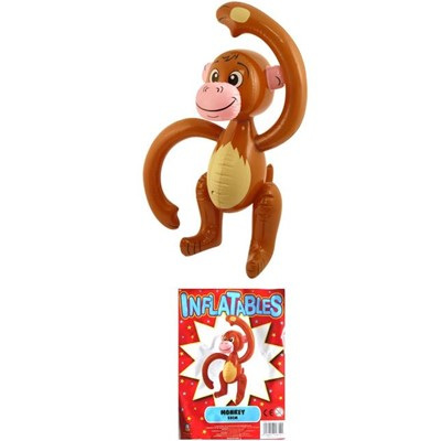 Inflatable monkey - 58cm