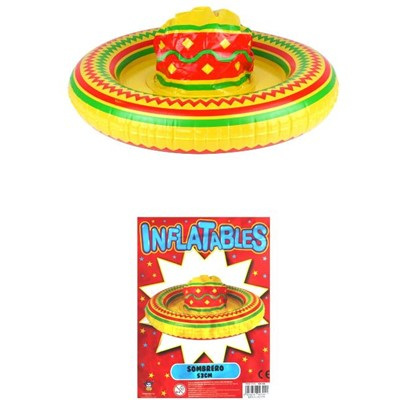 Inflatable sombrero - 53cm