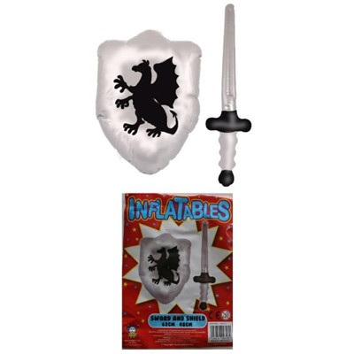 Inflatable sword & shield