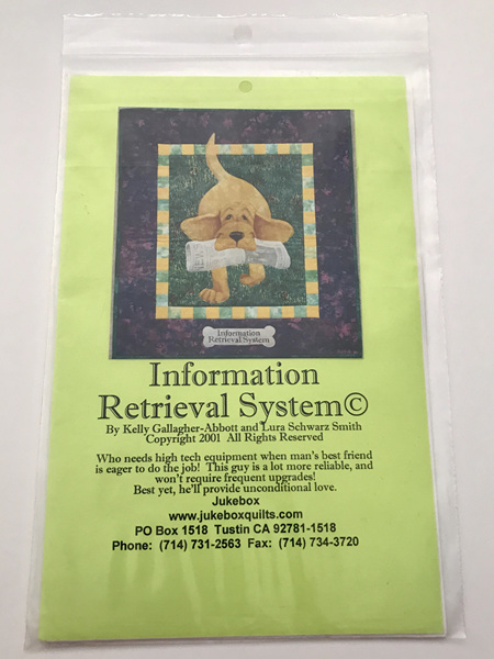Information Retail System Quilt Pattern